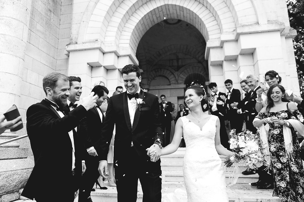 French Chateau Wedding Saint Julien l'Ars