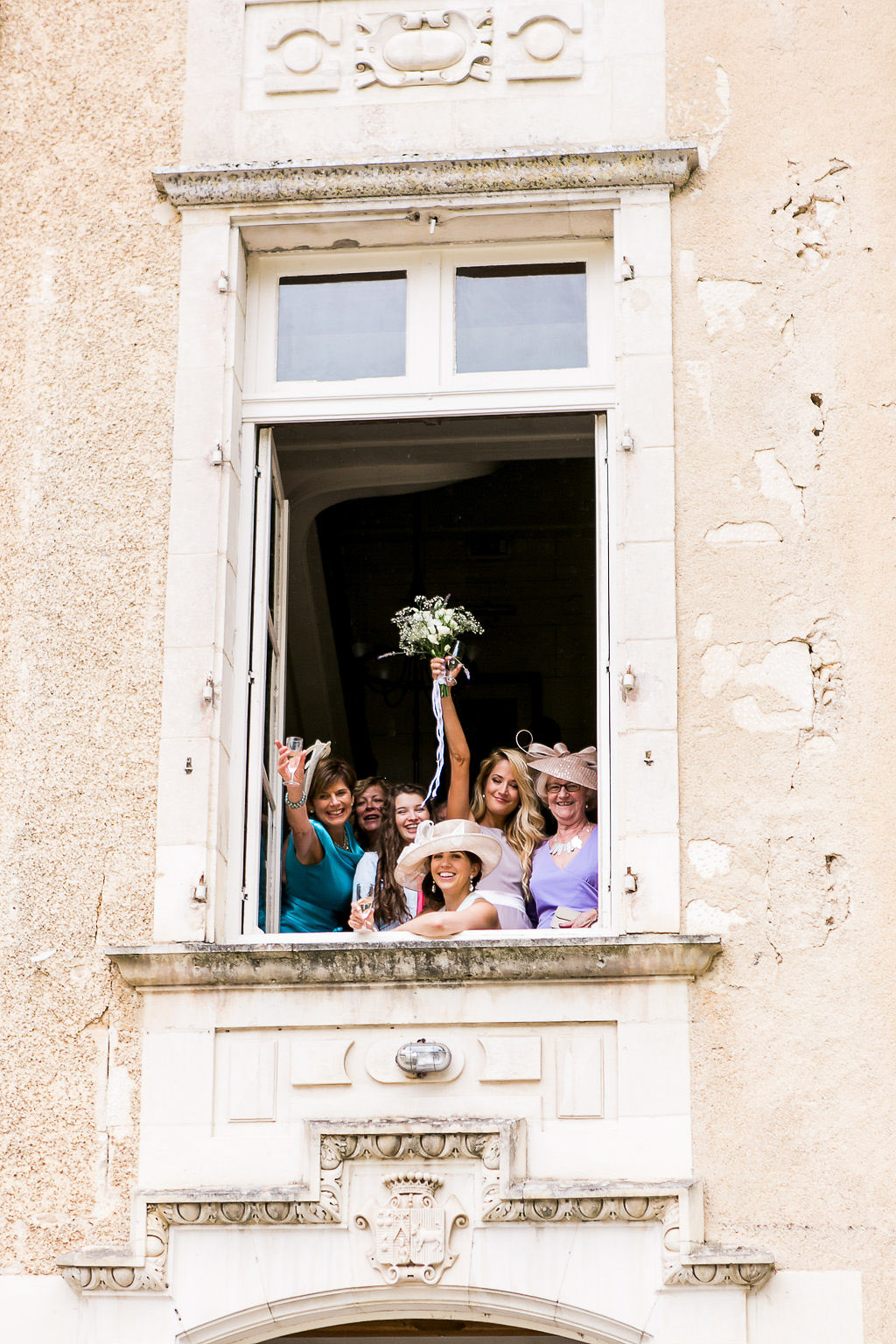 Castle France wedding - Chateau Saint Julien l'Ars Loire Valley