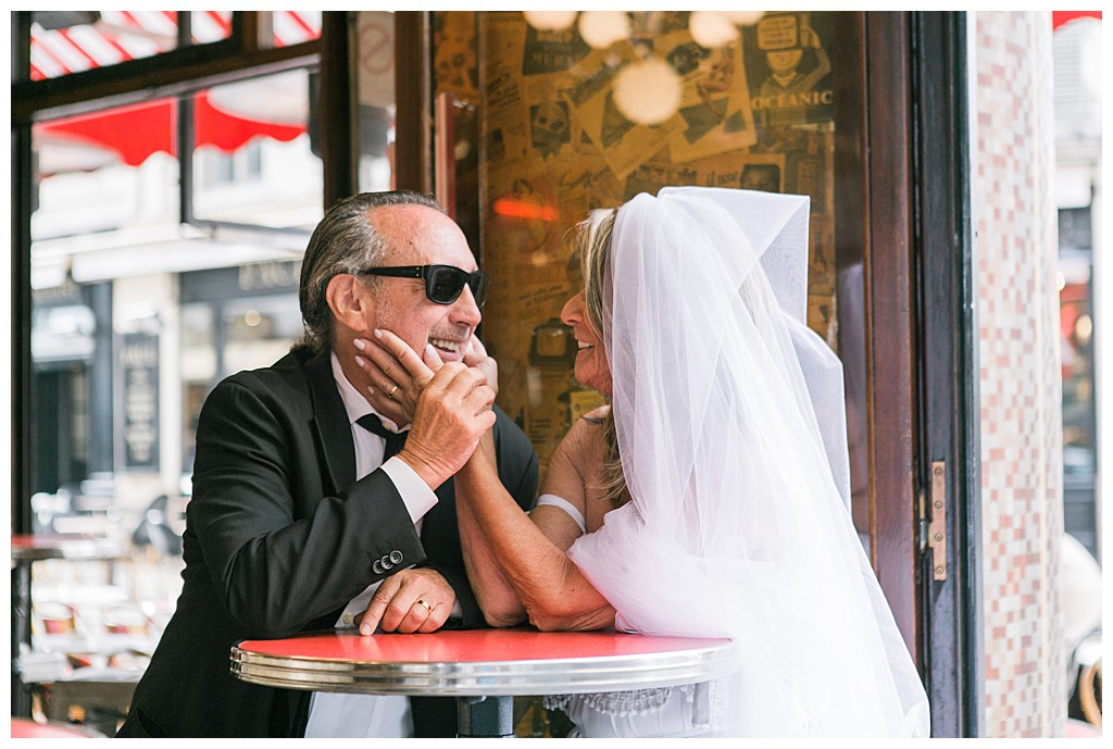 How to organese wedding in Paris. Couple photo session for wedding after 70 years. Elena Usacheva Photographer in France