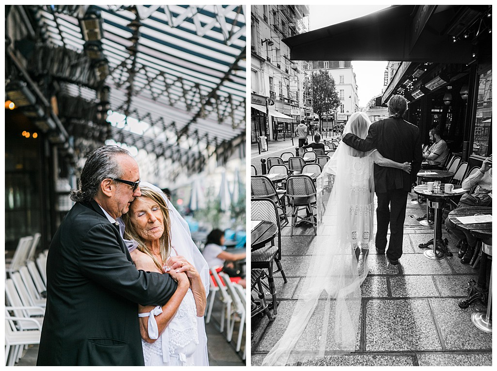 "Wedding after 70 Years. They sad ""I Do"" in Paris - Photographer Elena Usacheva"
